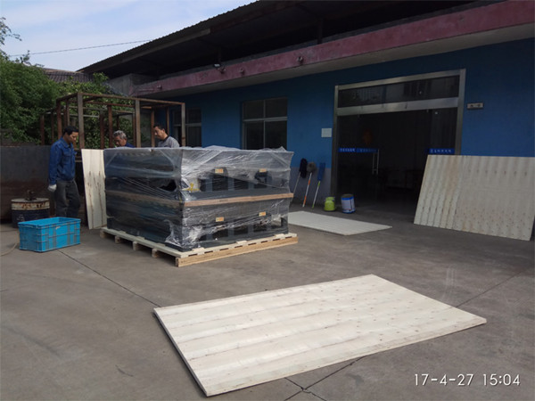 Shipment Of Hydraulic Dock Leveler To USA